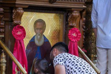 18 июля. В Александро-Невском кафедральном соборе Нижнего Новгорода (фото Александра Чурбанова)