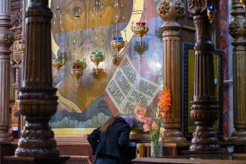 25 июля. В Александро-Невском кафедральном соборе (фото Александра Чурбанова)