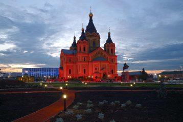 30 июля. Александро-Невский кафедральный собор (фото Алексея Козориза)