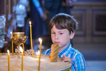 4 июля. В Александро-Невском кафедральном соборе (фото Александра Чурбанова)