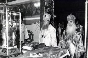 Служение в Покровском храме МДА. 1992 год