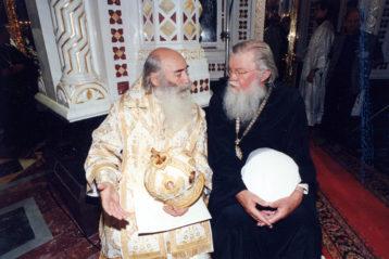 Встреча друзей в родной духовной школе. 1998 г.