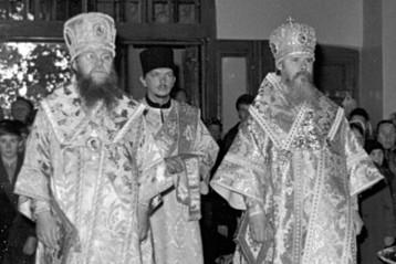 Служение митрополита Николая и митрополита Алексия (будущего Патриарха) в Пюхтицком монастыре