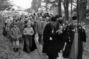 Встреча Преосвященных в Пюхтицкой обители