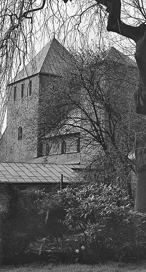 Старейшая церковь Лузиускирхе в Верденском аббатстве