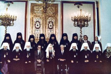 На Поместном Соборе в честь празднования 1000-летия Крещения Руси