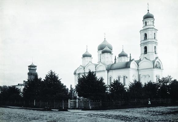 Свято-Троицкая Верхнепосадская церковь города Нижнего Новгорода