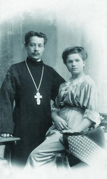 Иерей Михаил Гусев с супругой