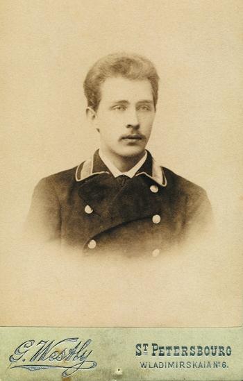 Студент Санкт-Петербургской Духовной академии Евгений Князев
