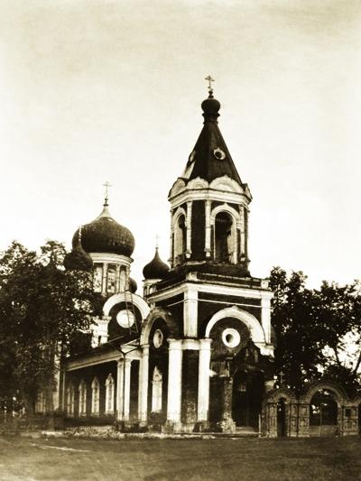 Никольская церковь села Просек Лысковского района Нижегородской обл.