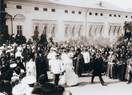 Во время торжеств прославления св. прп. Серафима  в Свято-Успенской Саровской пустыни в 1903 году