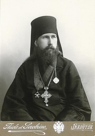 Ректор Иркутской Духовной семинарии архимандрит Евгений (Зернов)