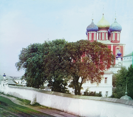 Успенский собор Рязанского кремля. Фото С.М. Прокудина-Горского