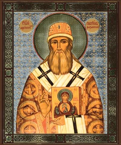 Икона святителя Гавриила, епископа Рязанского