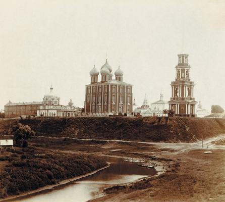 Вид Рязанского кремля. Фото С.М. Прокудина-Горского