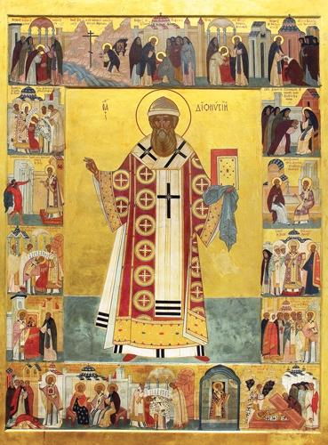 Икона святителя Дионисия, архиепископа  Нижегородского и Суздальского.  Вознесенский собор Нижегородского  Печерского монастыря