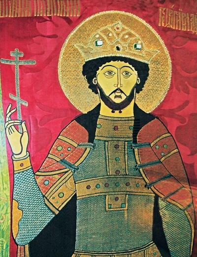Покров на мощи св. блгв. князя  Георгия Всеволодовича