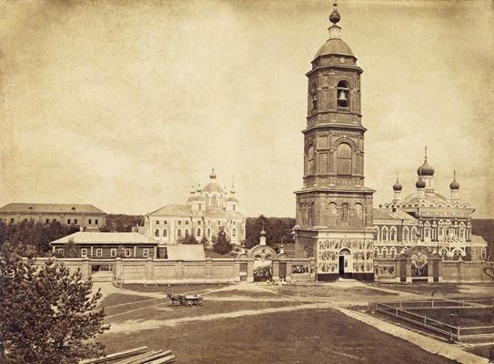 Выксунский Иверский женский монастырь. Фото нач. XX в.