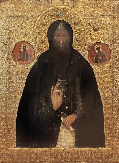 Икона св. прп. Евфимия