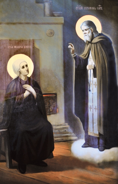 Явление св. прп. Серафима Саровского старице Пелагии