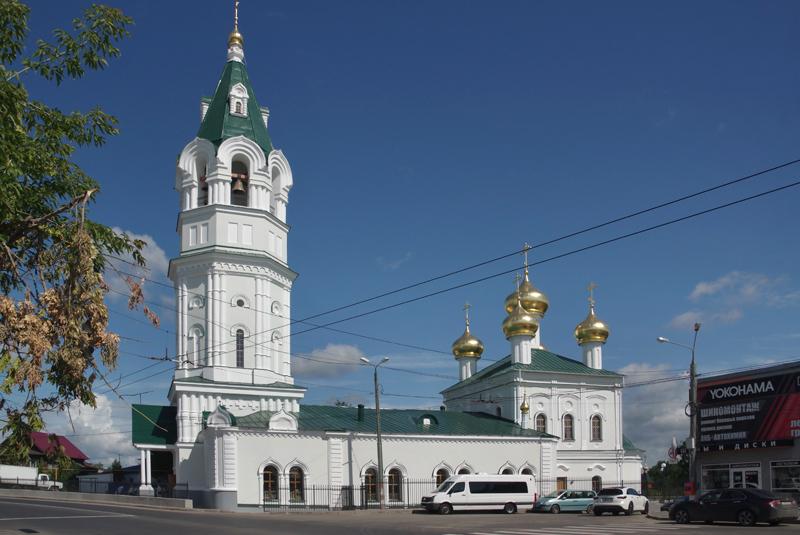 Троицкий храм в Копосово