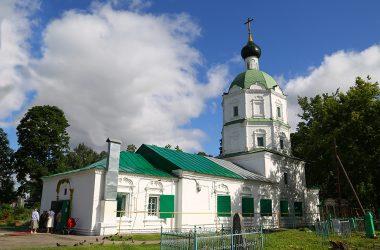 Храм Пресвятой Живоначальной Троицы г. Балахна