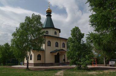 Храм в честь Казанской иконы Божией Матери (село Лукино)