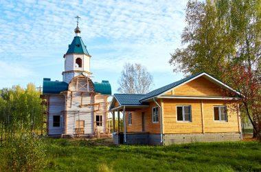 Храм в честь святых праведных Иоакима и Анны (поселок Гидроторф)