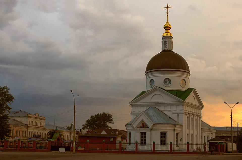 Храм в честь Владимирской иконы Божией Матери г. Арзамас
