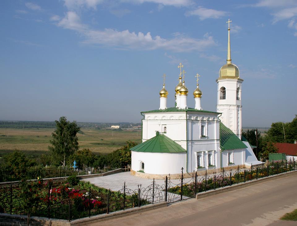 Храм в честь св. ап. и ев. Иоанна Богослова г. Арзамас