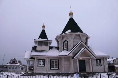 Храм в честь святого благоверного князя Александра Невского д. Конево
