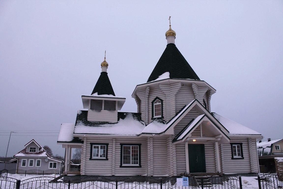 Храм в честь святого благоверного князя Александра Невского (д. Конево)