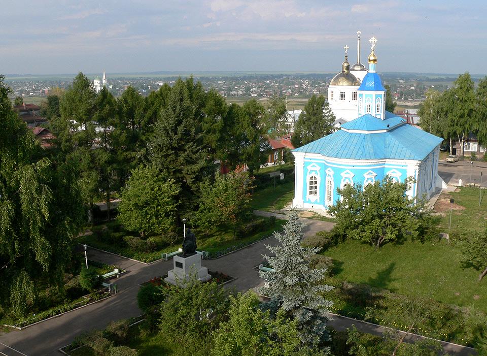 Храмовый комплекс в честь Святого Духа г. Арзамас