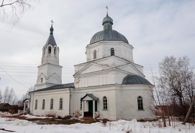 Храм в честь Рождества Христова (с. Васильев Враг)