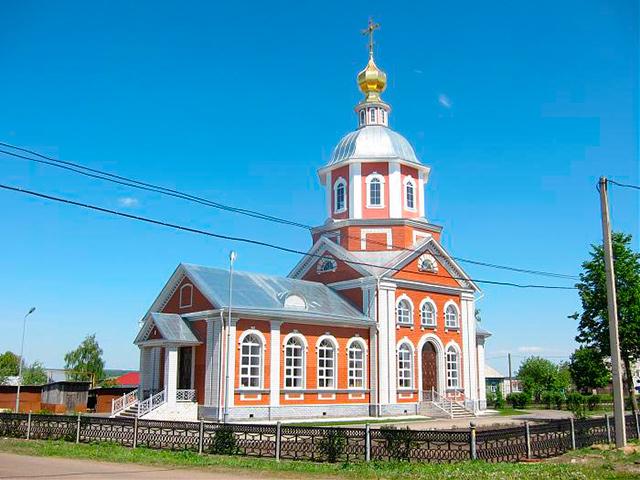 Храм в честь Рождества Иоанна Предтечи (с. Абрамово)