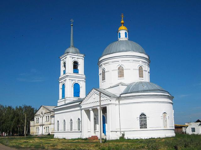 Храм в честь Смоленской иконы Божией Матери (с. Шерстино)