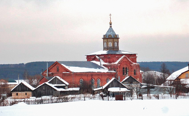 Храм в честь святителя и чудотворца Николая (с. Пешелань)