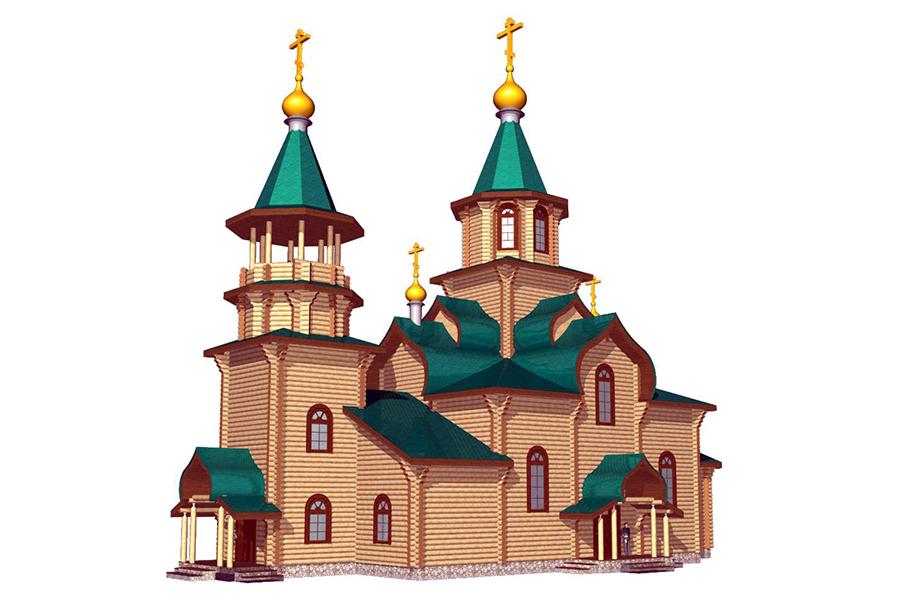 Храм в честь святой мученицы Людмилы, княгини Чешской