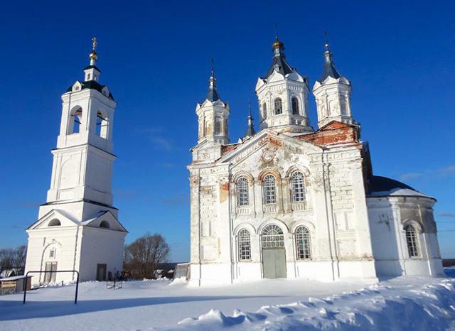 Храм в честь преподобного Сергия Радонежского (с. Волчиха)
