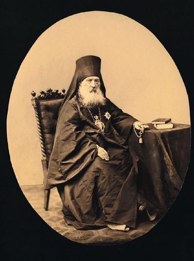 Архимандрит Антоний (Медведев).  Фото сер. XIX в.