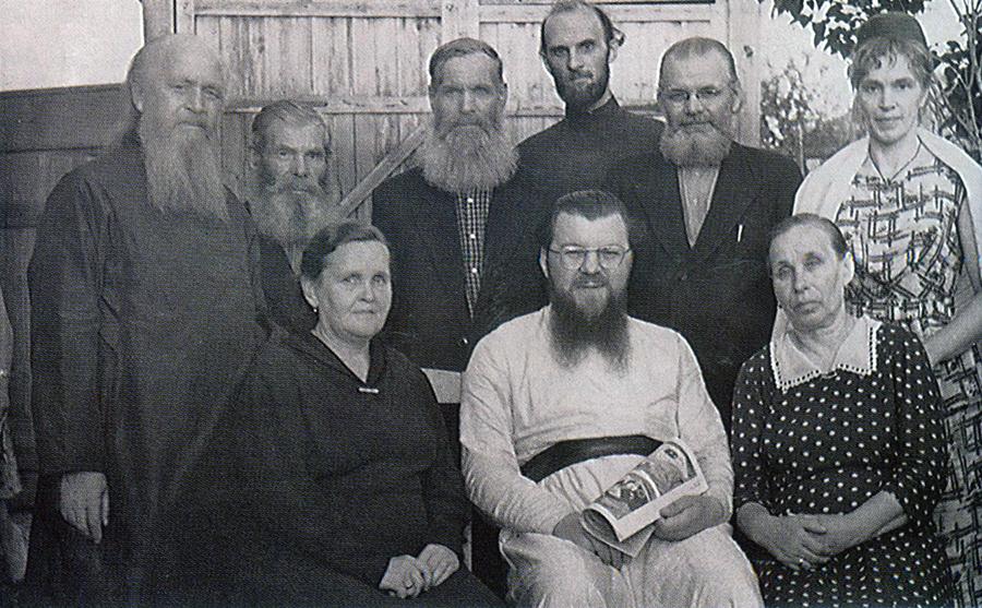 Владыка Николай с клиром Владимирской епархии