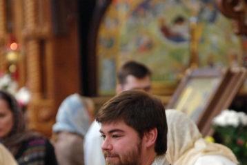 12 сентября. В Александро-Невском кафедральном соборе