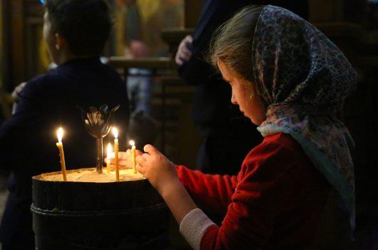 30 октября. В Александро-Невском кафедральном соборе Нижнего Новгорода (фото Сергея Лотырева)