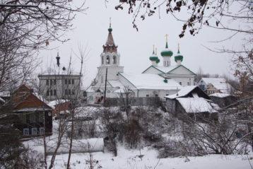 2 декабря. Старопечерская церковь Нижнего Новгорода (фото Алексея Козориза)