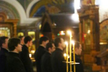 3 декабря. В Александро-Невском кафедральном соборе (фото Сергея Лотырева)