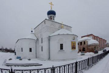 8 декабря. Знаменский храм города Балахны (фото Алексея Козориза)