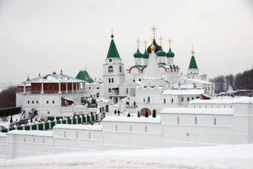 9 декабря. Вознесенский Печерский монастырь Нижнего Новгорода (фото Алексея Козориза)
