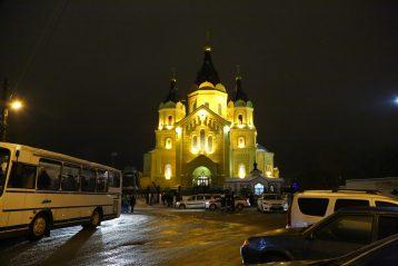 31 декабря. Александро-Невский кафедральный собор (фото Сергея Лотырева)