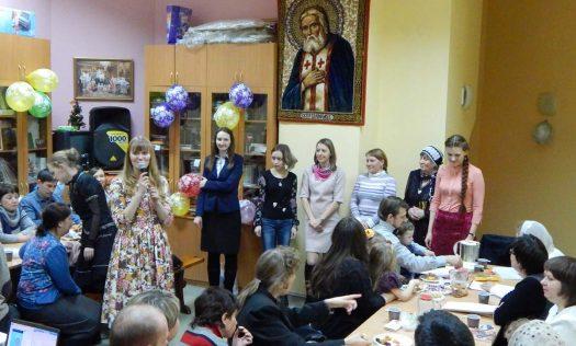 Творческая группа волонтерского движения «Милосердие» отпраздновала свое пятилетие