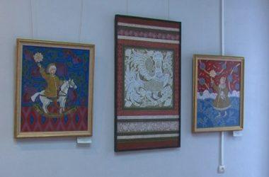 Выставка Марины Поляковой